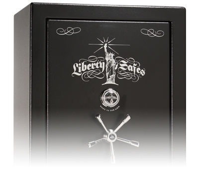 Lincoln Feature Traditional Liberty Safe Logo