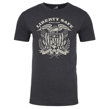 Liberty Eagle Charcoal T-Shirt
